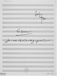 Sonatina No.3 for Violin and Piano: Partitura completa by Ernst Levy