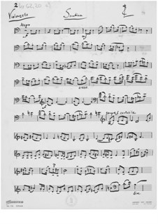 Sonatina for Cello and Piano: parte violoncelo by Ernst Levy