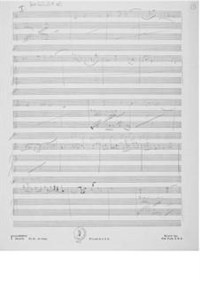 Sonata No.2 for Violin and Piano: esboços dos compositores by Ernst Levy