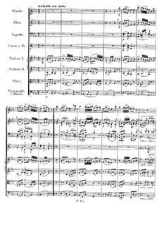 Symphony No.5 in B Flat Major, D.485: movimento II by Franz Schubert
