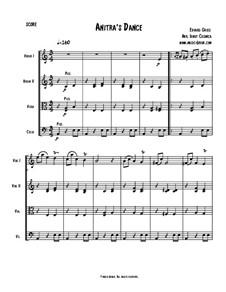Suite No.1. Anitra's Dance, Op.46 No.3: para quartetos de cordas by Edvard Grieg
