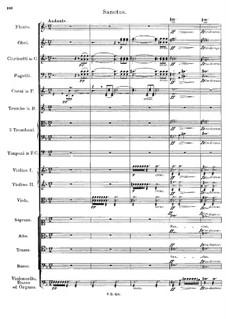 Mass No.5 in A Flat Major, D.678: Sanctus by Franz Schubert