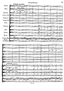 Mass No.5 in A Flat Major, D.678: Benedictus by Franz Schubert