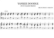 Yankee Doodle: For synthesizer (C Major) by folklore