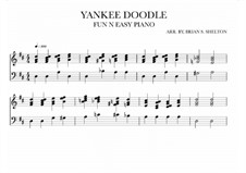 Yankee Doodle: For synthesizer (D Major) by folklore
