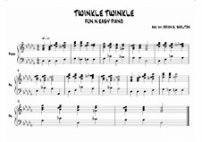 Twinkle, Twinkle Little Star: In Db major by folklore