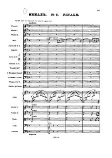 No.9 Finale: partitura completa by Pyotr Tchaikovsky