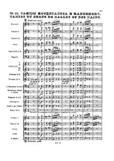 No.16 Danses du corps de ballet et des nains: No.16 Danses du corps de ballet et des nains by Pyotr Tchaikovsky