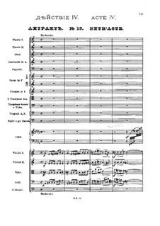 No.25 Entr'acte: No.25 Entr'acte by Pyotr Tchaikovsky