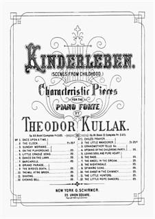 Scenes from Childhood, Op.81: Book II No.1-8 by Theodor Kullak