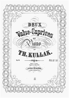 Valse-Caprice, Op.99 No.2: Para Piano by Theodor Kullak