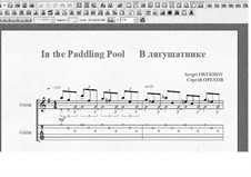 In the Paddling Pool: In the Paddling Pool by Sergei Orekhov
