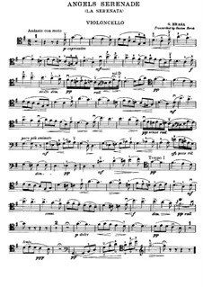 Angel's Serenade (Légende Valaque): para violoncelo e piano - parte violoncelo by Gaetano Braga