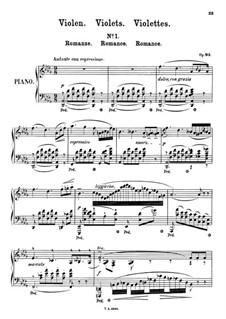 Violen, Op.93: Violen by Theodor Kullak