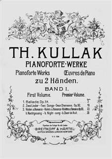 Pianoforte-Werke: Band I by Theodor Kullak