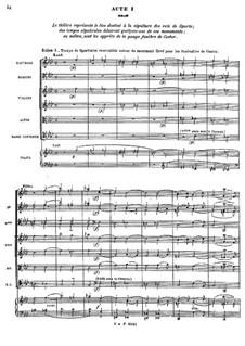 Complete Opera: ato I by Jean-Philippe Rameau