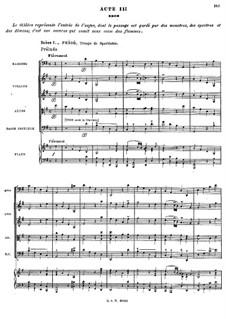 Complete Opera: Ato III by Jean-Philippe Rameau