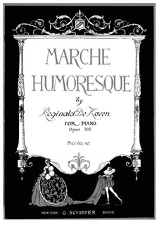 Marche Humoresque, Op.362: Para Piano by Reginald De Koven