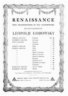 Tambourin in E Minor: Para Piano by Jean-Philippe Rameau
