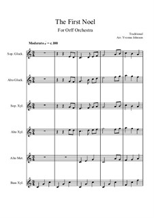 Vocal-instrumental version: For orff orchestra by folklore