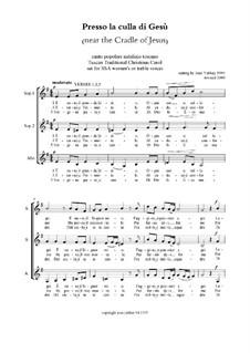 Presso la culla di Gesù (SSA): Presso la culla di Gesù (SSA) by Unknown (works before 1850)