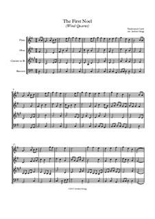 Vocal-instrumental version: Para quarteto de sopro by folklore