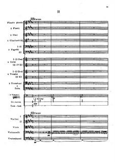Symphony No.2 in F Sharp Minor 'Antar', Op.9: movimento II by Nikolai Rimsky-Korsakov