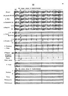 Symphony No.2 in F Sharp Minor 'Antar', Op.9: movimento III by Nikolai Rimsky-Korsakov