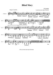 Blind Mary: Para Guitarra by Turlough O'Carolan