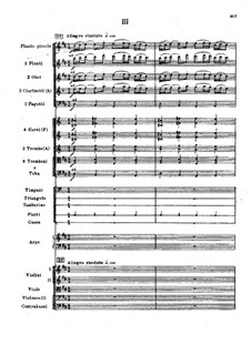 Symphony No.2 in F Sharp Minor 'Antar', Op.9: Movement III, second version by Nikolai Rimsky-Korsakov