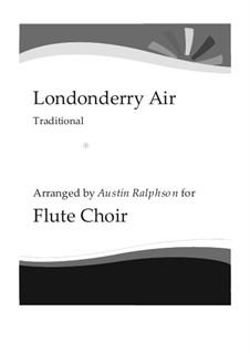 Ensemble version: For flute choir by folklore