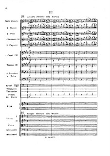 Symphony No.2 in F Sharp Minor 'Antar', Op.9: Movement III, third version by Nikolai Rimsky-Korsakov