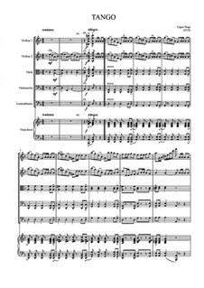 European Tango: para orquestra sinfonica by Eugen Doga