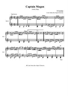 Captain Magan: For gothic harp by Turlough O'Carolan