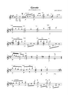 Cycle 'Three dedications', Op.2: No.3 Gavotte (dedicated to S. Prokofiev) by BOUROFF