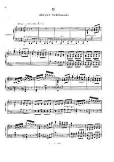 Concerto for Piano and Orchestra No.2 in G Minor, Op.22: movimento II, versão para piano by Camille Saint-Saëns