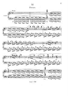 Concerto for Piano and Orchestra No.2 in G Minor, Op.22: Movimento III. Versão para piano by Camille Saint-Saëns