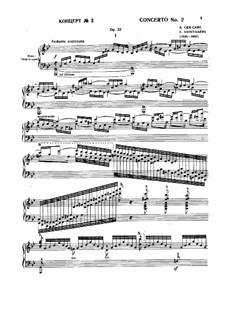 Concerto for Piano and Orchestra No.2 in G Minor, Op.22: Versão para dois pianos de quatro mãos by Camille Saint-Saëns
