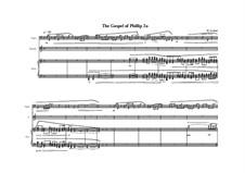 Oratorium No.2, Gospel of Philip: No.2a, MVWV 518 by Maurice Verheul