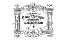 Phaeton, Op.39: para piano de quadro mãos by Camille Saint-Saëns