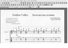 Golden Valley: Golden Valley by Sergei Orekhov