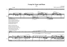 5 songs for tenor and piano: No.5, MVWV 339 by Maurice Verheul