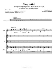 Glory to God: partitura completa by John Atteberry