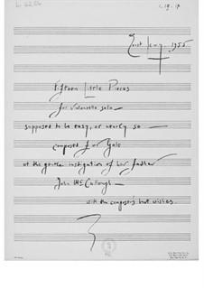 Fifteen Little Pieces for Cello Solo: Fifteen Little Pieces for Cello Solo by Ernst Levy