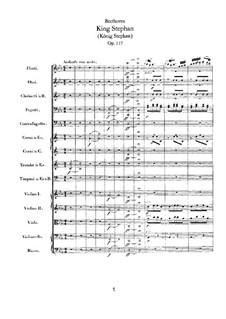 König Stephan (King Stephen), Op.117: abertura by Ludwig van Beethoven