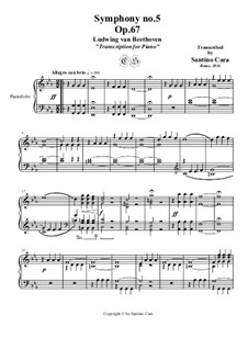 Movement I: Para Piano by Ludwig van Beethoven