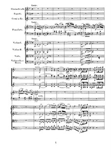 Concerto for Piano and Orchestra No.1, Op.15: movimento II by Ludwig van Beethoven