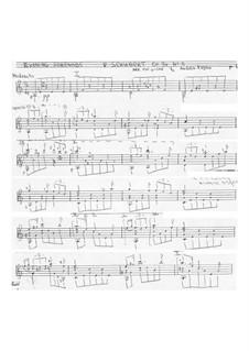 No.4 Ständchen (Serenade): Para Guitarra by Franz Schubert