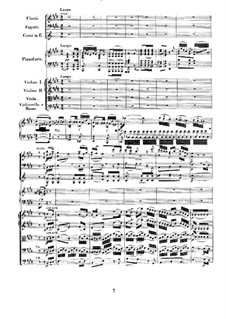 Concerto for Piano and Orchestra No.3, Op.37: movimento II by Ludwig van Beethoven