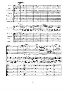 Concerto for Piano and Orchestra No.3, Op.37: movimento III by Ludwig van Beethoven